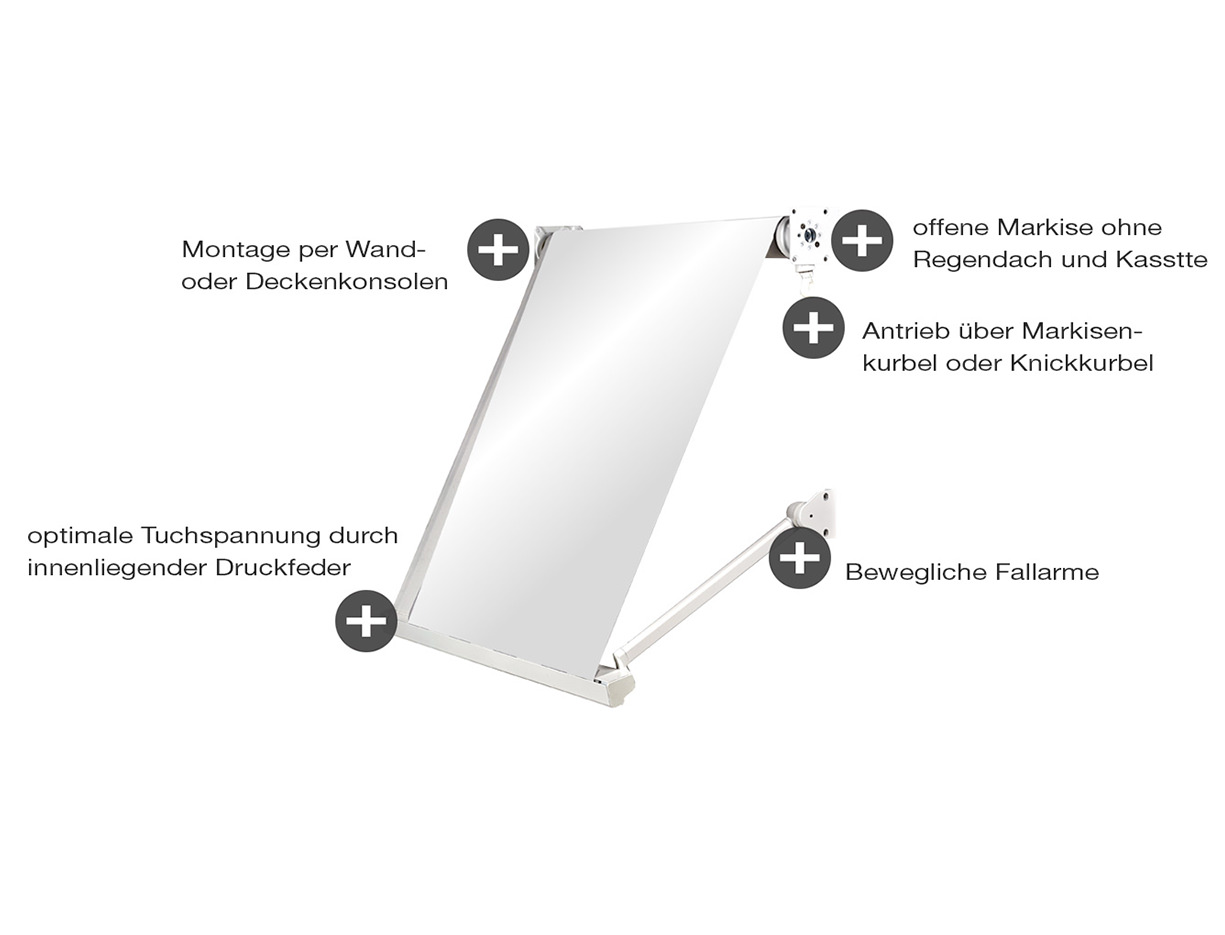 Fenstermarkise ERHARDT FOK - Eigenschaften