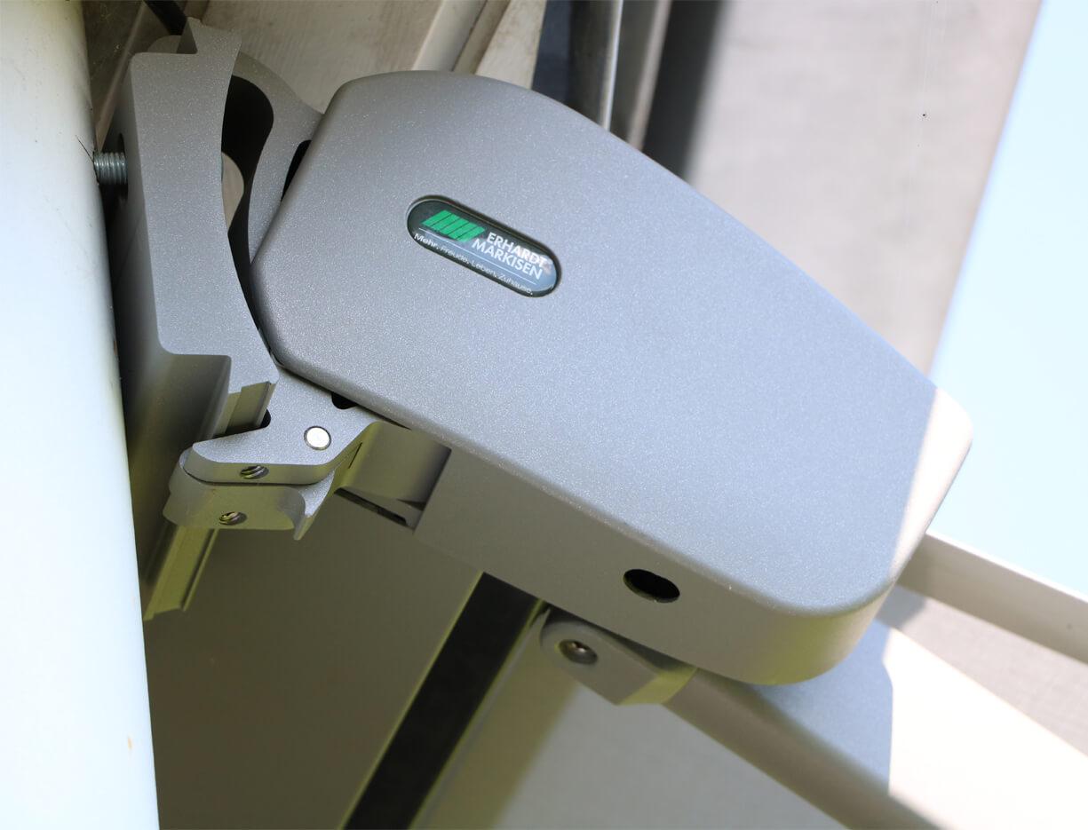 Kassettenmarkise ERHARDT K - Sicht von außen