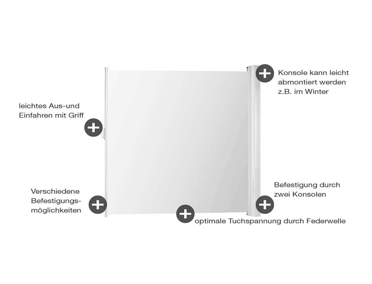 Seitenmarkise ERHARDT WSW -