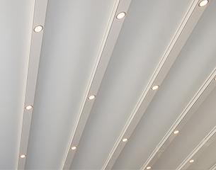 Pergolamarkise QUBE Line - LED-Spots