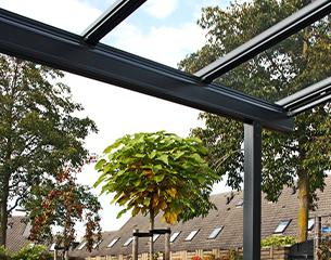 ERHARDT Terrassendach T100/ T150 - Design