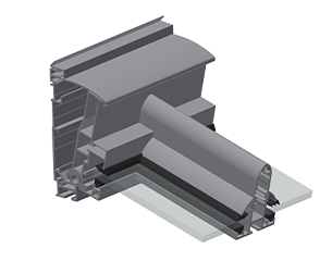 ERHARDT Terrassendach T100/ T150 - Wandanschlusstechnik