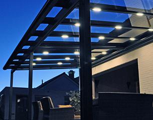 ERHARDT Terrassendach T100/ T150 - Zubehör