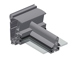 ERHARDT Terrassendach T100/ T150 INTEGRAL - Wandanschlusstechnik