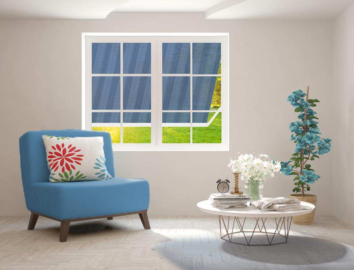 Fenstermarkise ERHARDT FOK - Sicht von innen