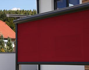 Klassische Pergolamarkise ERHARDT PM - Sicht- und Sonnenschutz
